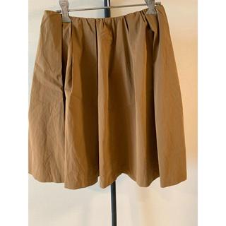 ドゥアルシーヴ(Doux archives)のキャメル スカート(ひざ丈スカート)