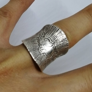 KSR-F1 カレン族シルバー リング(リング(指輪))