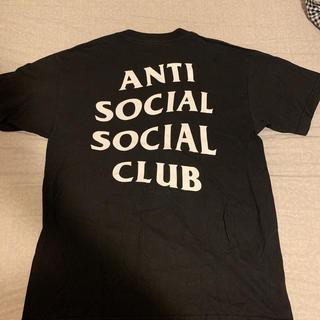 シュプリーム(Supreme)のAnti social social club tee Mサイズ(Tシャツ/カットソー(半袖/袖なし))