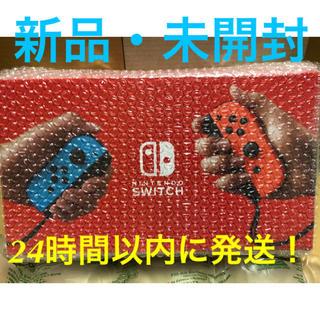 ニンテンドースイッチ(Nintendo Switch)の新型 Nintendo Switch ネオンブルー/レッド(家庭用ゲーム機本体)