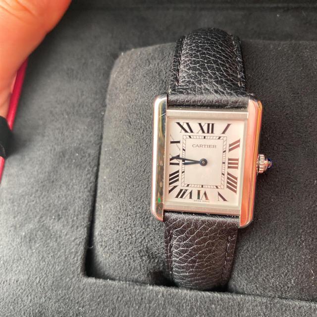 Cartier(カルティエ)の専用 タンク ソロ ウォッチ カルティエ 時計 週末セール メンズの時計(腕時計(アナログ))の商品写真