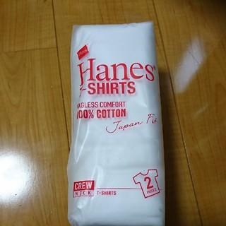 ヘインズ(Hanes)の新品未使用 Hanes Japan Fit 半袖Tシャツ2枚組 Mサイズ(Tシャツ/カットソー(半袖/袖なし))