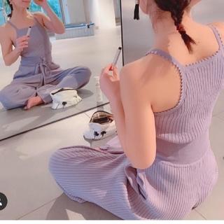 エミアトリエ(emmi atelier)のemmi yoga ニットパンツ(ヨガ)