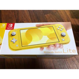 Nintendo Switch - 完品 スイッチ ライト イエロー  switch lite 黄色