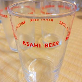 アサヒ(アサヒ)のレア⭐︎グラス3個セット⭐︎アサヒビール 三ツ矢サイダー(グラス/カップ)