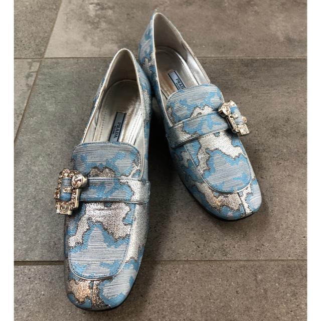 PRADA(プラダ)の新品‼︎ PRADA パンプス ローファー レディースの靴/シューズ(ローファー/革靴)の商品写真
