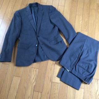 ユナイテッドアローズ(UNITED ARROWS)のユナイテッドアローズ スーツ 46 濃グレー シルク混(セットアップ)