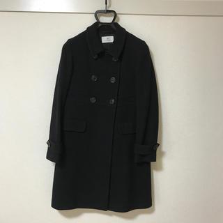 ナチュラルビューティーベーシック(NATURAL BEAUTY BASIC)のユナイテッドアローズ コート ブラック 日本製(ロングコート)