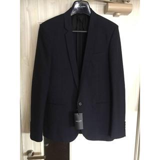 サンローラン(Saint Laurent)のサンローランパリ クロップドジャケットスーツ サイズ48 紺 ネイビー(セットアップ)