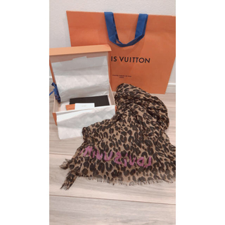 LOUIS VUITTON - Louis Vuittonレオパードストールです☆新品未使用