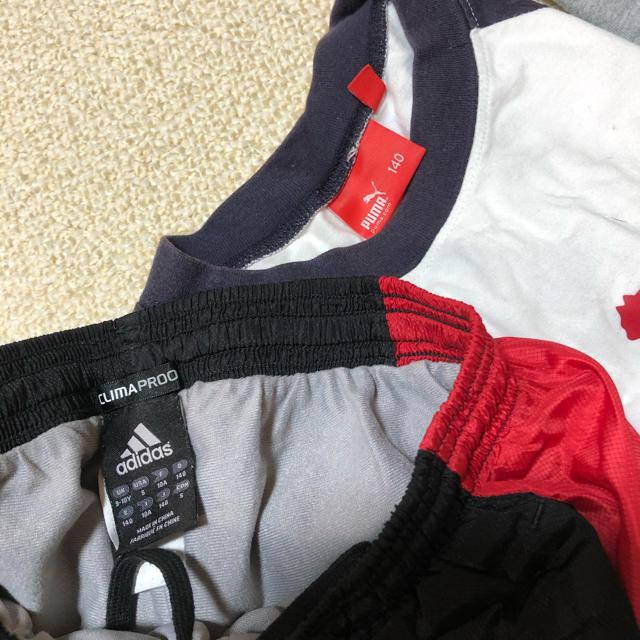 PUMA(プーマ)のボーイズ140  4枚セット キッズ/ベビー/マタニティのキッズ服男の子用(90cm~)(Tシャツ/カットソー)の商品写真