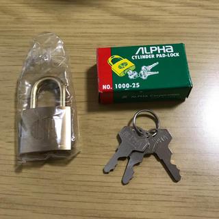 アルファ(alpha)の南京錠(その他)