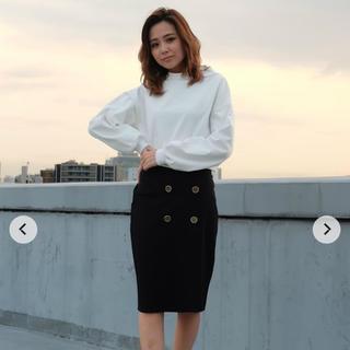 RESEXXY - リゼクシー トレンチポンチ スカート ボタン