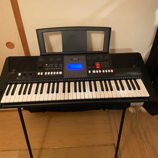 ヤマハ(ヤマハ)のYAMAHA 電子ピアノPSR-E423+キーボードケースSSC-53(電子ピアノ)