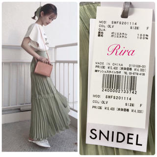 snidel - 新作新品🌷スナイデル シャイニープリーツスカート 2020SS