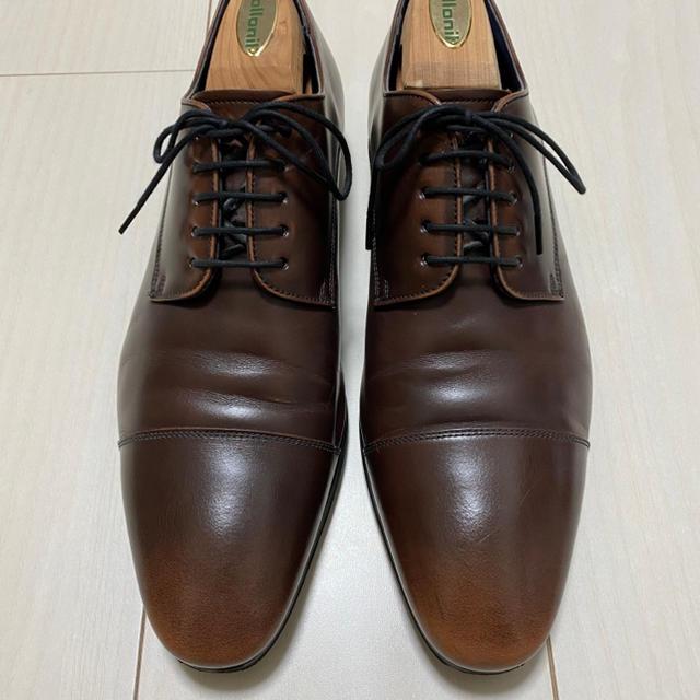 REGAL(リーガル)の【美品】Regal 25GR ストレートチップ ダークブラウン 25cm メンズの靴/シューズ(ドレス/ビジネス)の商品写真