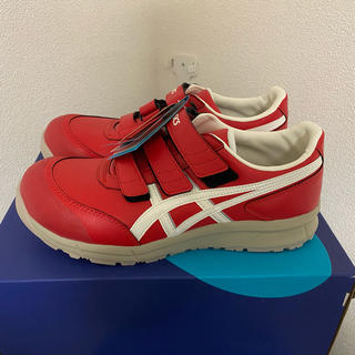 アシックス(asics)の新品!アシックス 安全靴 CP301 レッド(その他)