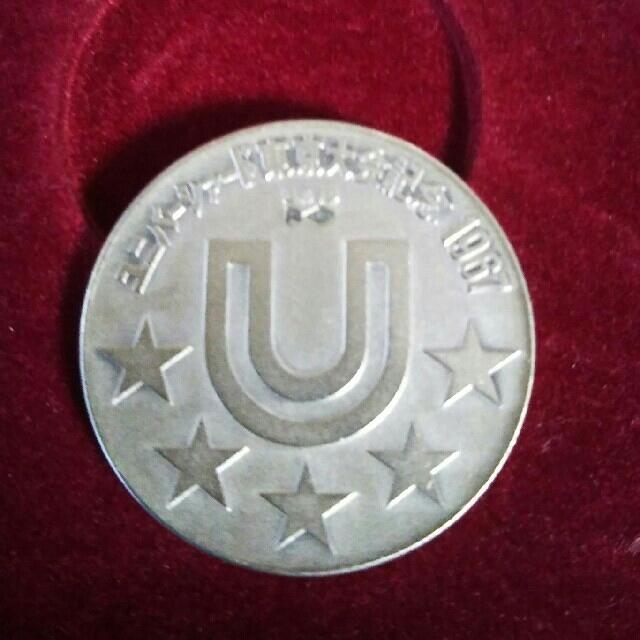 あゆあゆ様)美品1967年ユニバーシアード東京大会記念銀メダル エンタメ/ホビーのコレクション(その他)の商品写真