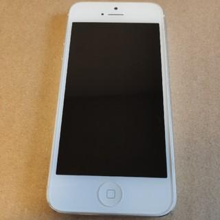 iPhone - iPhone 5 本体 シルバー 32GB au