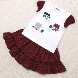 familiar - ファミリア Tシャツ&スカート