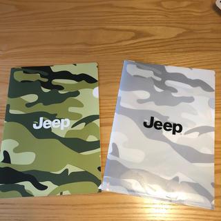 ジープ(Jeep)のジープ クリアファイル(クリアファイル)