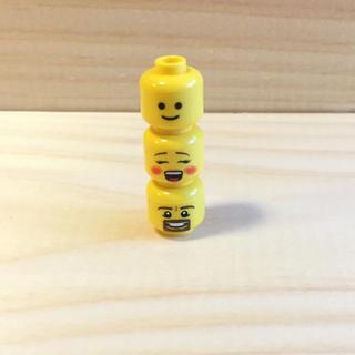 Lego - レゴ ヘッドパーツ 3個セット