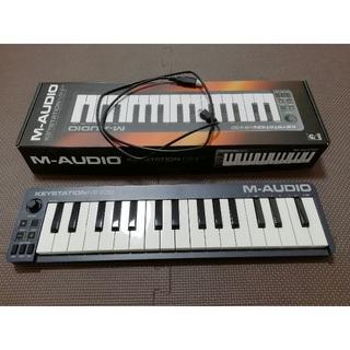 【MIDIキーボード】M-AUDIO Keystation Mini 32 II(MIDIコントローラー)