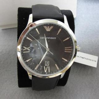 エンポリオアルマーニ(Emporio Armani)の2019年新作 ARMANI 高級メンズ腕時計 ジョバンニ 3針デイト革ベルト(腕時計(アナログ))