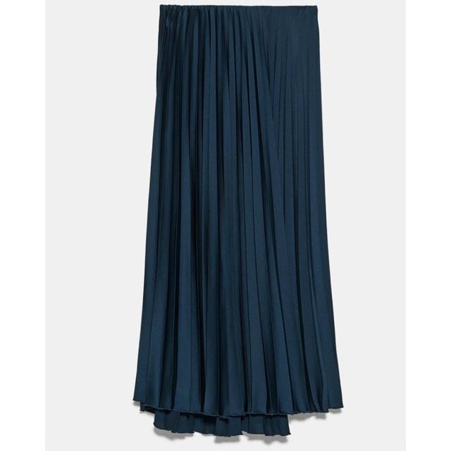 ZARA(ザラ)の新品未使用 タグ付き ZARA  プリーツ スカート レディースのスカート(ロングスカート)の商品写真