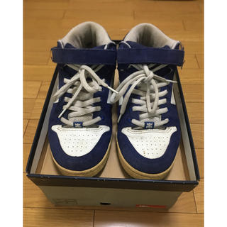 アイパス(IPATH)のipath GRASSHOPPER BLUE/WHT LEATHER SIZE9(スニーカー)