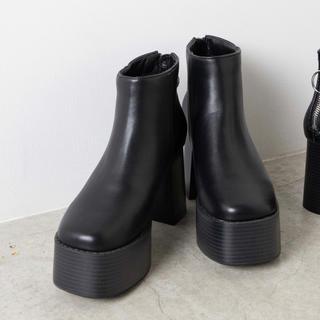 WEGO - WEGO 厚底ブーツ