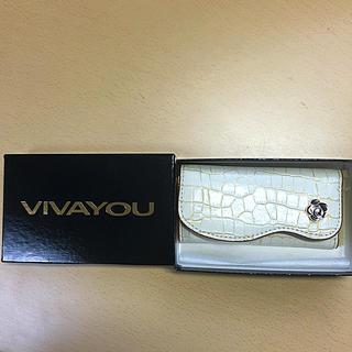 ビバユー(VIVAYOU)のVIVAYOU キーケース/ホワイト(キーケース)