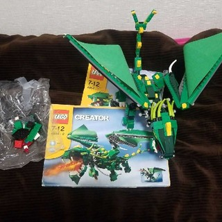 Lego - レゴ LEGO CREATOR 4894 グリーンドラゴン