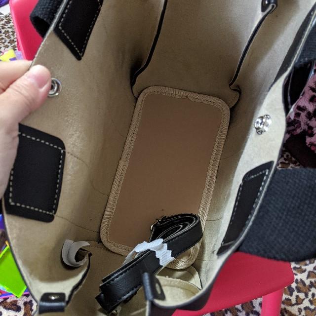 しまむら(シマムラ)の早い者勝ち!お値下げ!しまむら ボタン付き2wayバッグ♪ レディースのバッグ(ショルダーバッグ)の商品写真