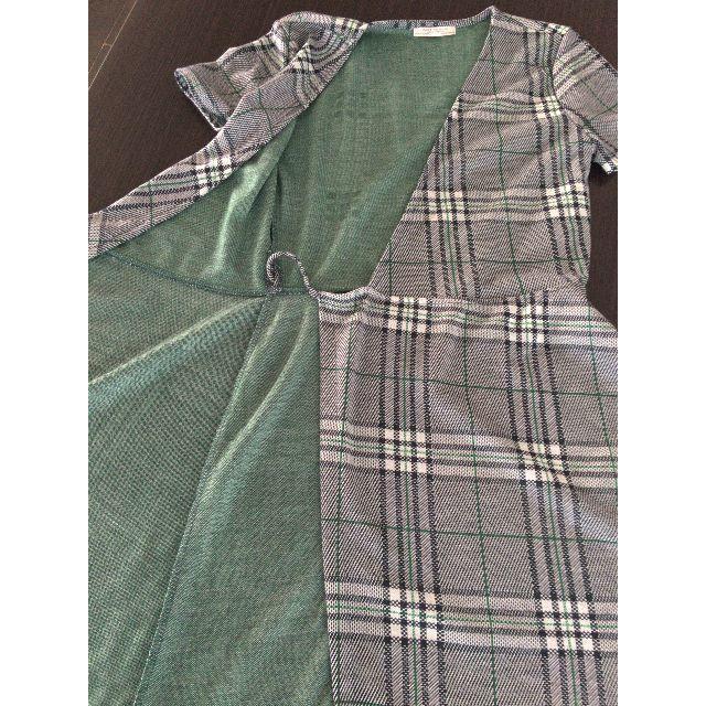 ZARA(ザラ)のZARA Trafaluc 半袖ワンピース レディースのワンピース(ひざ丈ワンピース)の商品写真
