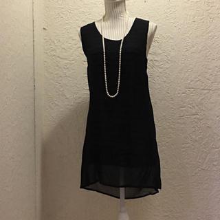 ビーシービージーマックスアズリア(BCBGMAXAZRIA)のBCBG ブラック レース セクシードレス(ミディアムドレス)