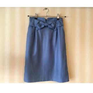 アナトリエ(anatelier)の美品★送料込み★Anatelier春色スカート(ひざ丈スカート)