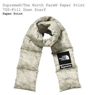 Supreme - Supreme 19aw Paper Print Down Scarf