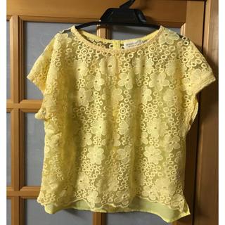 ダブルクローゼット(w closet)のW closet レースブラウス 春色(シャツ/ブラウス(半袖/袖なし))