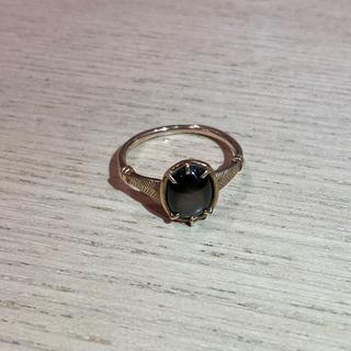 アッシュペーフランス(H.P.FRANCE)のタツオナガハタ ブラックスターサファイア(リング(指輪))
