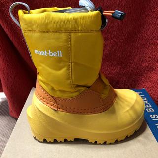 モンベル(mont bell)のmont-bell スノーブーツ 15㎝キッズ&ベビー(ブーツ)