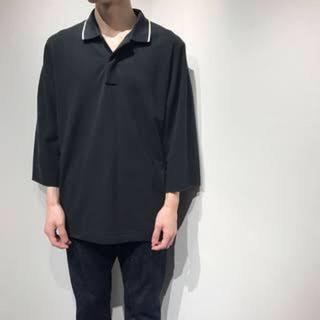 サンシー(SUNSEA)のsunsea 18ss big polo shirt(ポロシャツ)