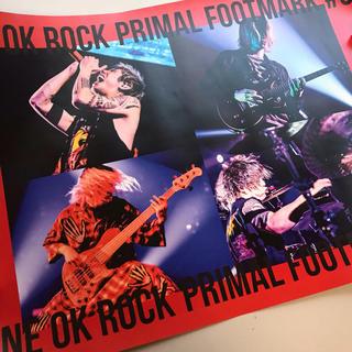ONE OK ROCK - ONE OK ROCK PRIMAL FOOTMARK #9 継続特典ポスター