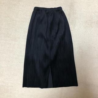 パラビオン(Par Avion)のparavion  タイトプリーツスカート(ひざ丈スカート)