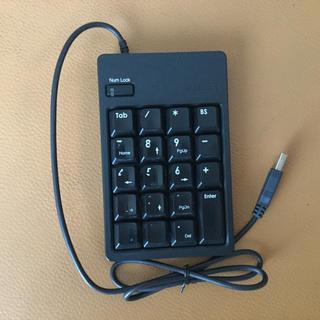 エレコム(ELECOM)のELECOM テンキー TK-UFHBK(PC周辺機器)