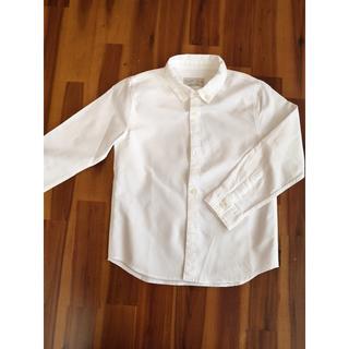 ZARA KIDS - ZARA Boys ワイシャツ 白120サイズ