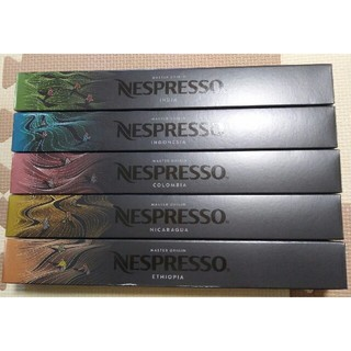 Nestle - ネスプレッソ カプセル 5本(50個)