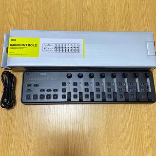 コルグ(KORG)の【超美品】KORG nanokontrol2 ブラック(MIDIコントローラー)