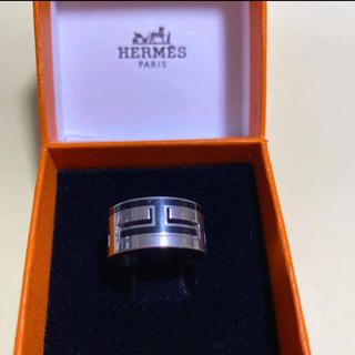 エルメス(Hermes)の良品!HERMES エルメス ムーブアッシュリング(リング(指輪))
