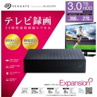 エクスパンション(EXPANSION)のテレビ用録画 Expansion  3TB(その他)